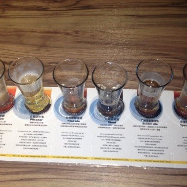 jolly brewery taipei beer flight