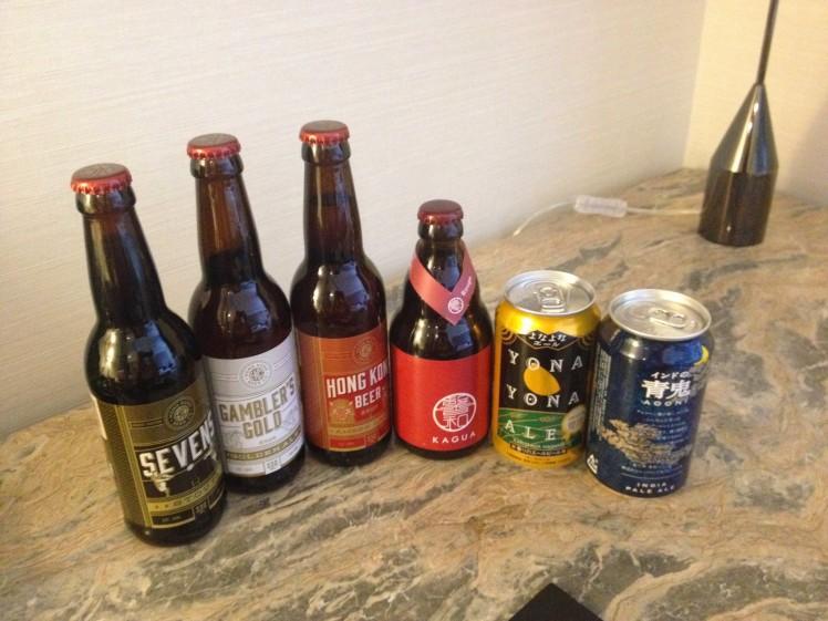 hong kong and japanese beers