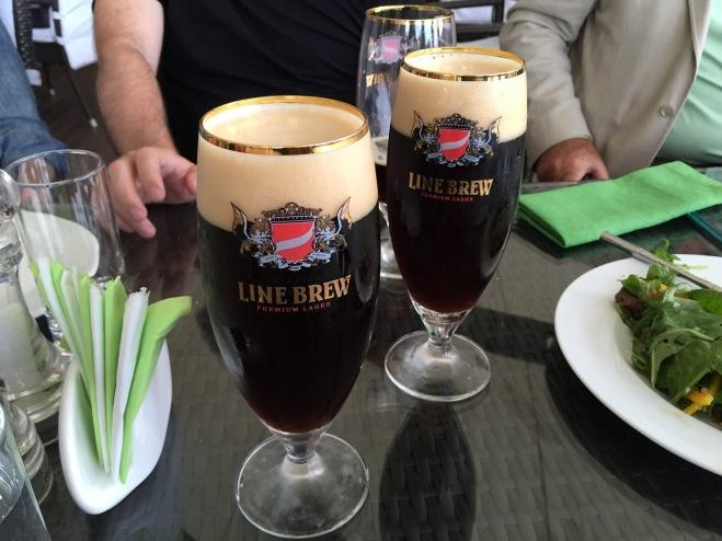line brew's dark ale